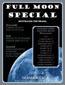 Full Moon Package